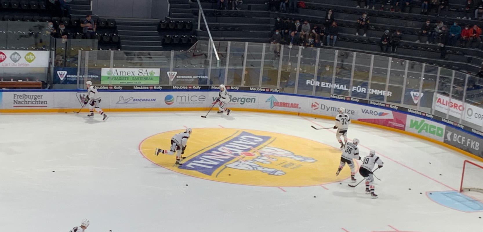 Mice Swiss sponsor du HC Fribourg Gotteron